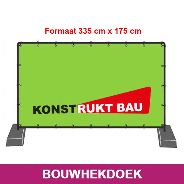Bouwhekdoek Atlasreclame