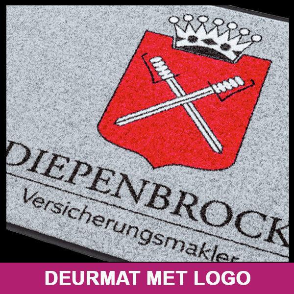 Deurmat met logo